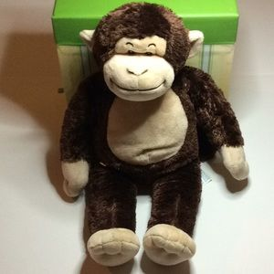 Monkey Build A Bear Plush EUC Brown and Tan